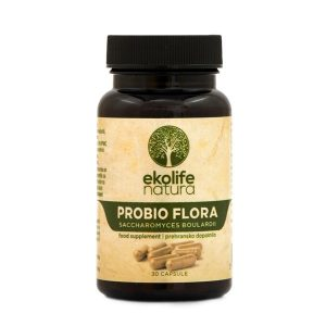 Ekolife natura probiotiki PROBIO FLORA 30 kapsul
