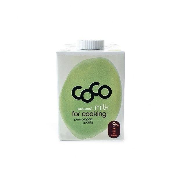 Ekološko kokosovo mleko za kuhanje 500ml