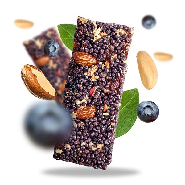 Ekološka tablica z mešanimi semeni in brazilskimi oreščki 25g